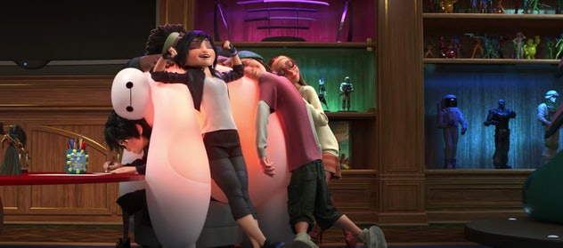 Big Hero 6 is a movie from 2014.