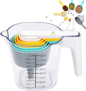 FAVIA Nesting Measuring Cups and Spoons