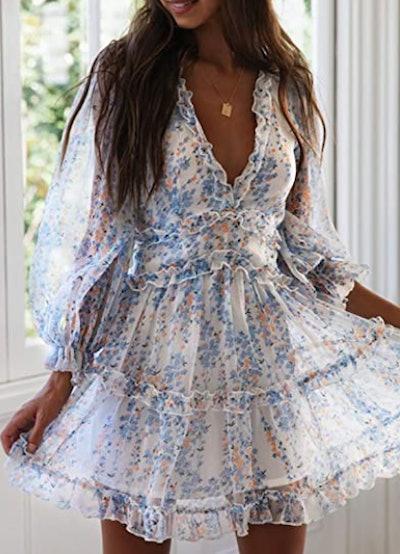 Dokotoo Ruffle Summer Dress