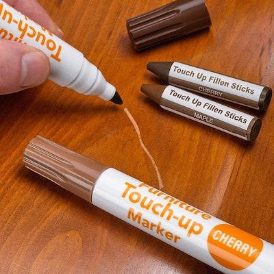 Katzco Wood Markers Furniture Repair Kit (Set of 17)