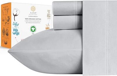 Sleep Mantra Organic Cotton Sheets (4 Pieces)