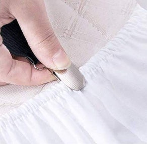 Siaomo Bed Sheet Holder Straps (2 Pieces)