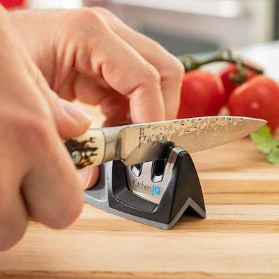 KitchenIQ Edge Grip 2 Stage Knife Sharpener