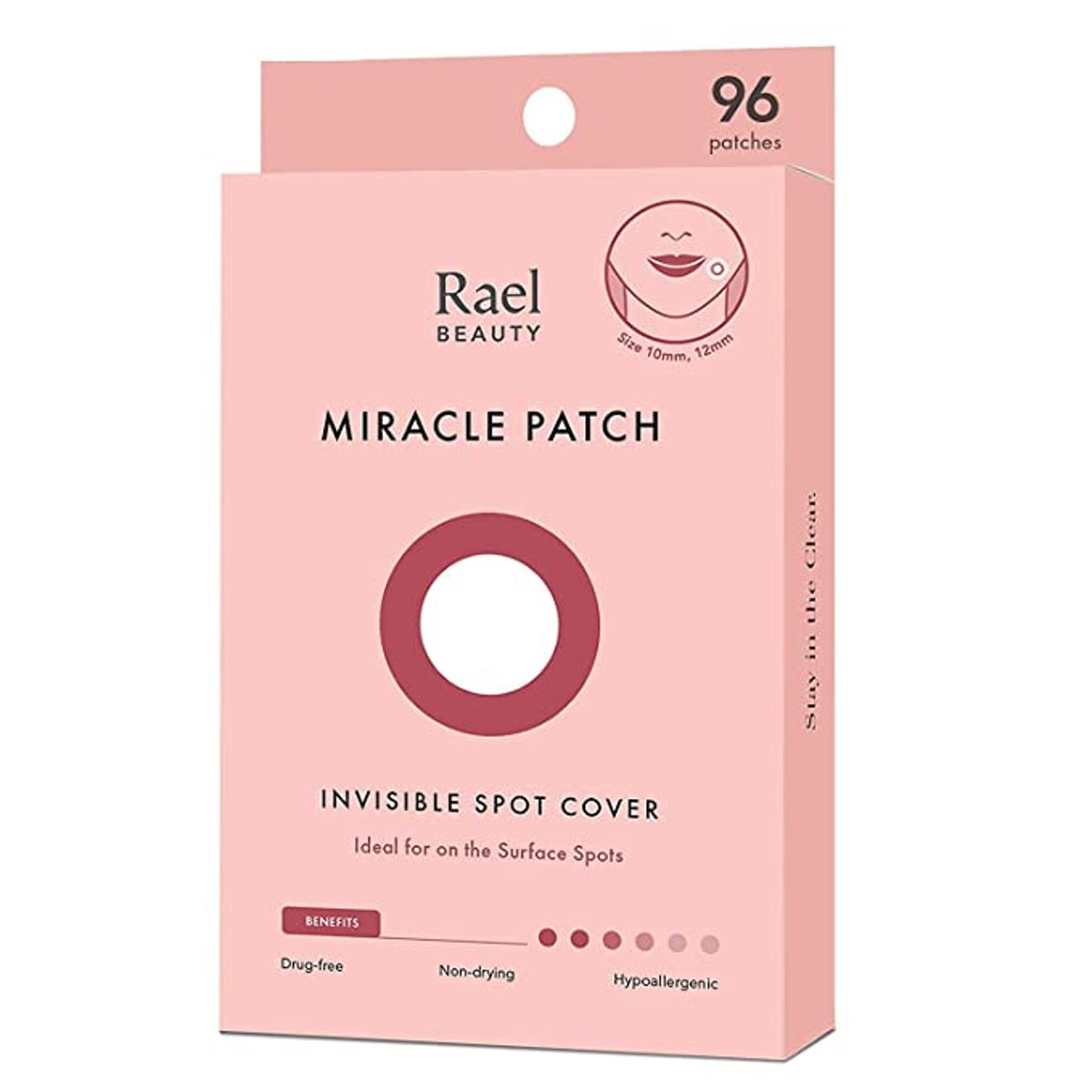 Rael Acne Pimple Healing Patch (96-Count)