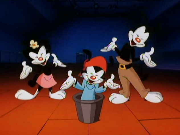 Animaniacs was produced by director Steven Spielberg.