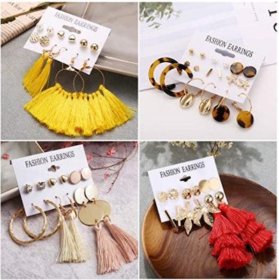 Funtopia Earrings Set (61 Pairs)