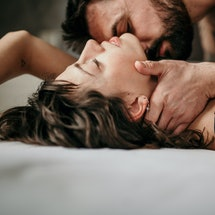 A man and a woman having sex. Toxic ex sex is hotter than regular sex with an ex, people who've been...