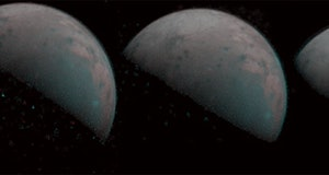 NASA Juno image of Ganymede 2019