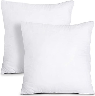 Utopia Bedding Throw Pillows Insert (2-Pack)