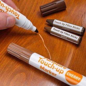 Katzco Furniture Repair Kit Wood Markers (Set of 17)