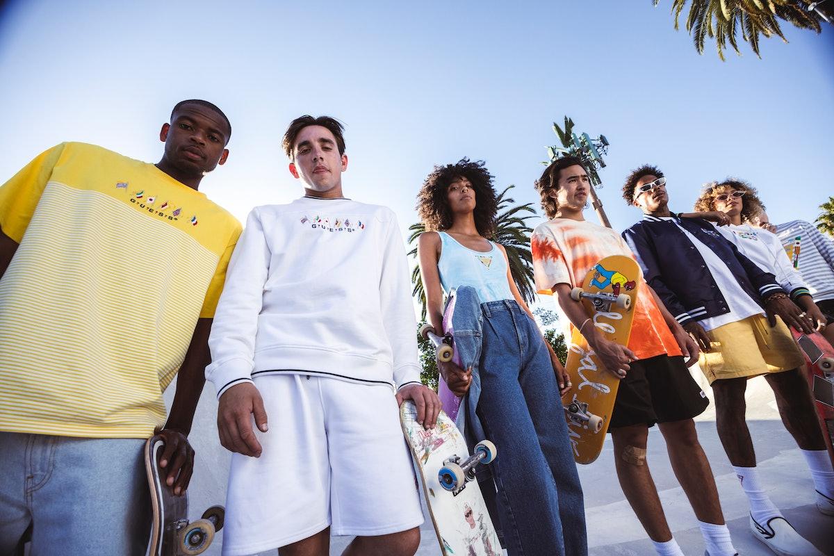 Skaters Alex Midler, Boo Johnson, Zach Saraceno, Ish Cepeda, Briana King, Dayana Young, Nico Hiraga ...