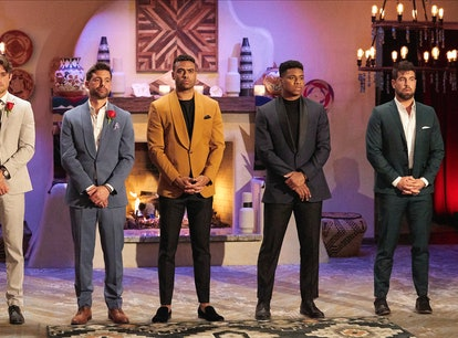 Katie's 'Bachelorette' cast members, Michael, Justin, Andrew, and Blake