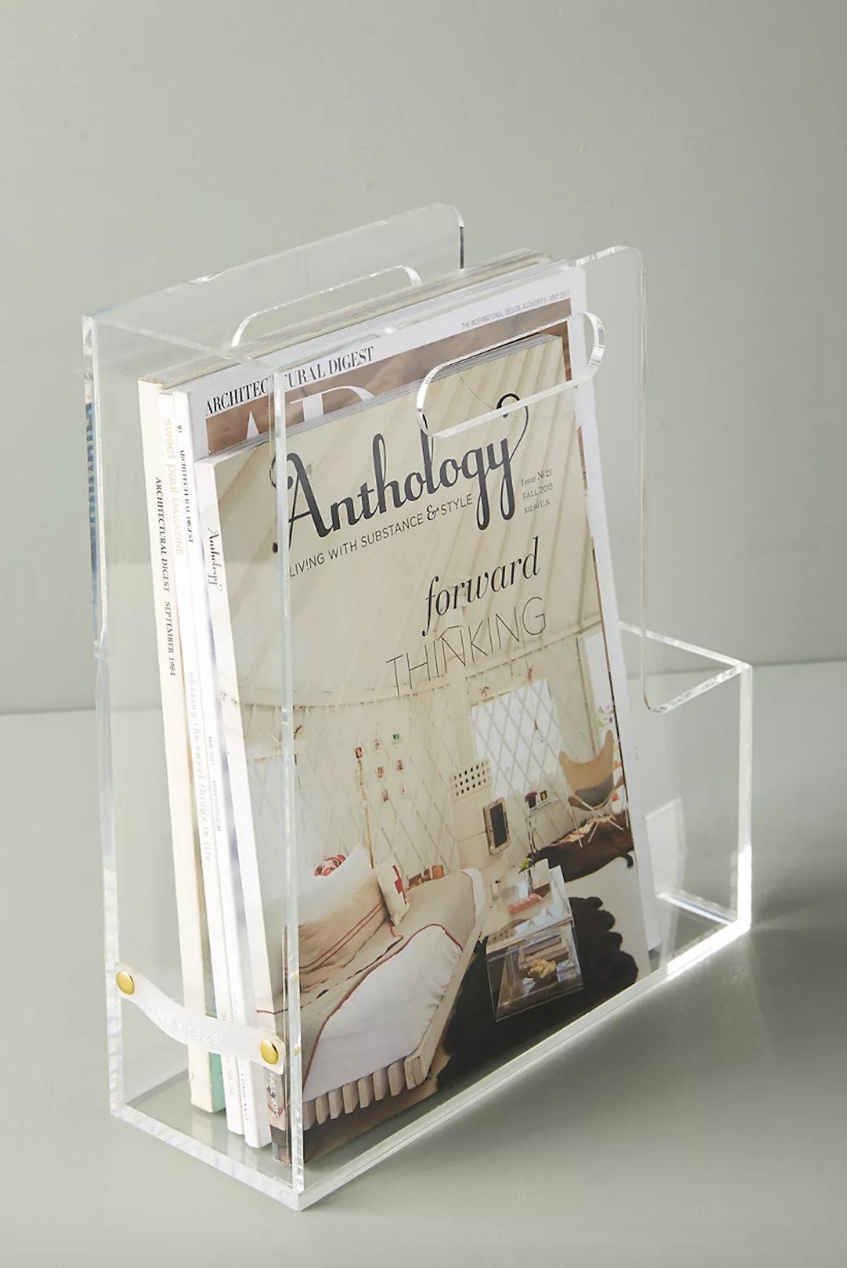 Acrylic Magazine File