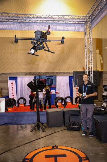 Drone demonstration at the National Sheriffs' Association Conference in Phoenix 21