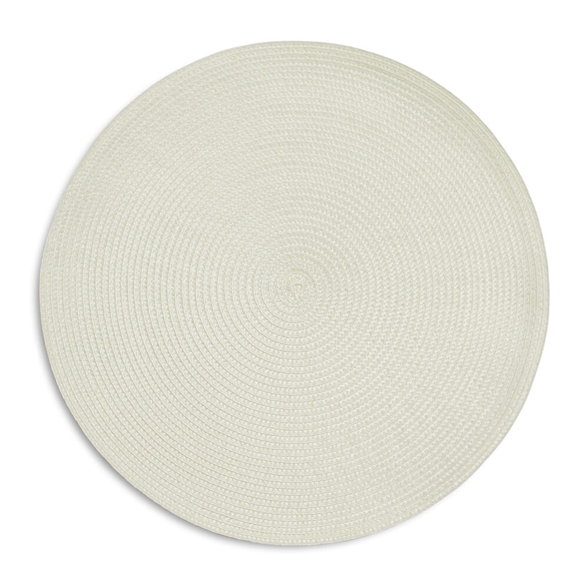 """Round Woven Placemats, 15"""""""