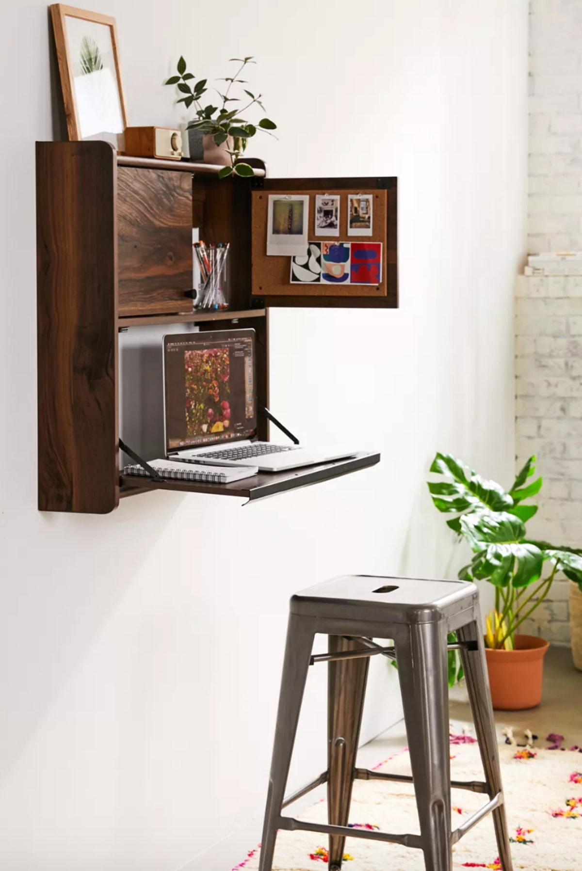Hover to zoom.  Murray Wall-Mounted Desk