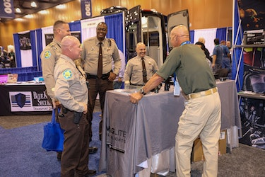 Sheriffs gather at the National Sheriffs' Association Conference in Phoenix 2021