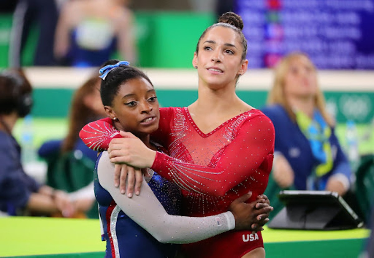 Aly Raisman's reaction to Simone Biles out of the team final was so supportive.
