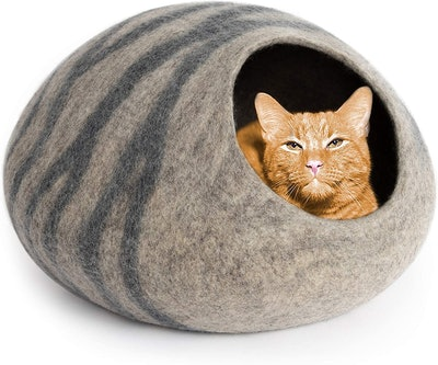 MEOWFIA Merino Wool Cat Bed
