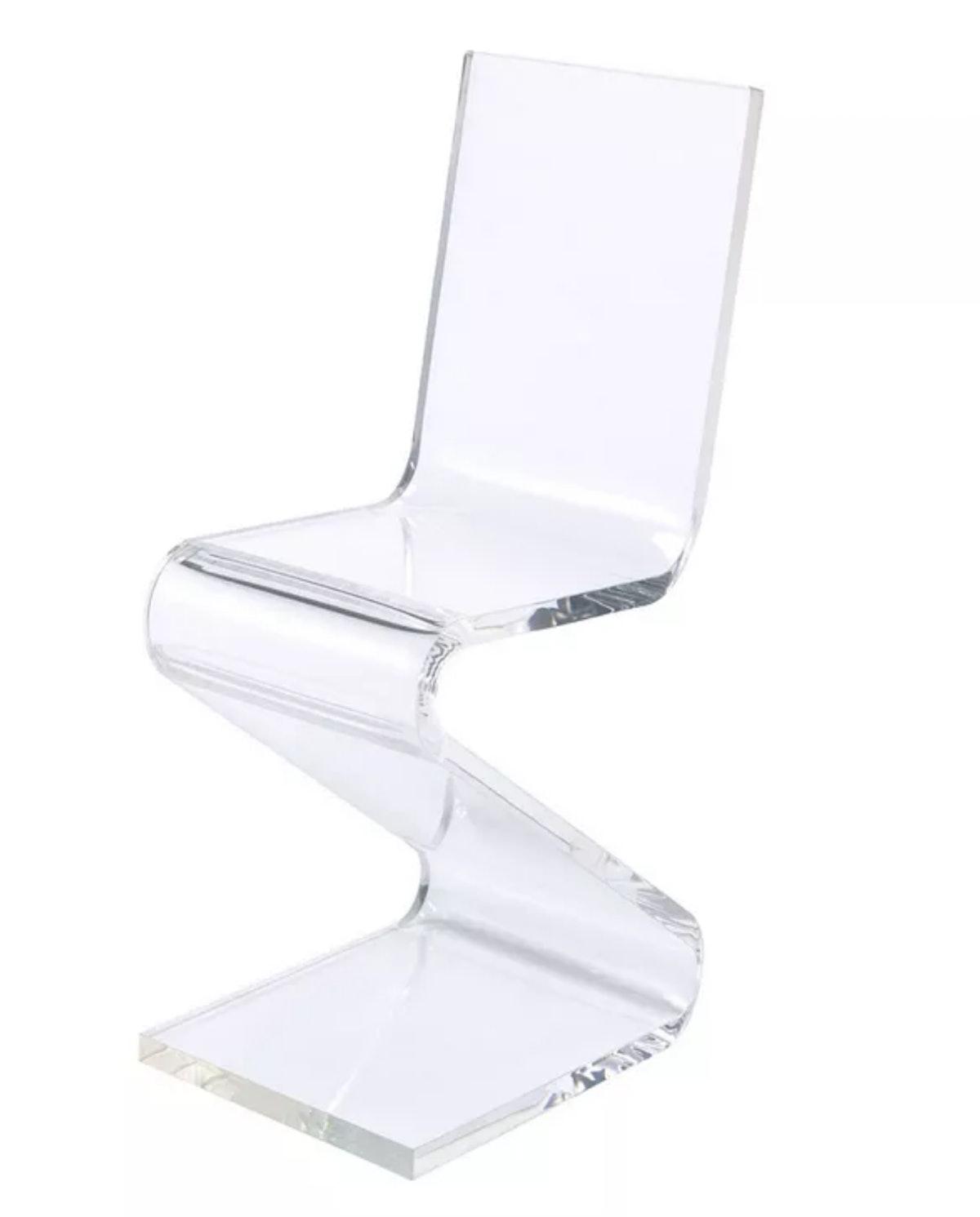 Peek Acrylic Z-Chair