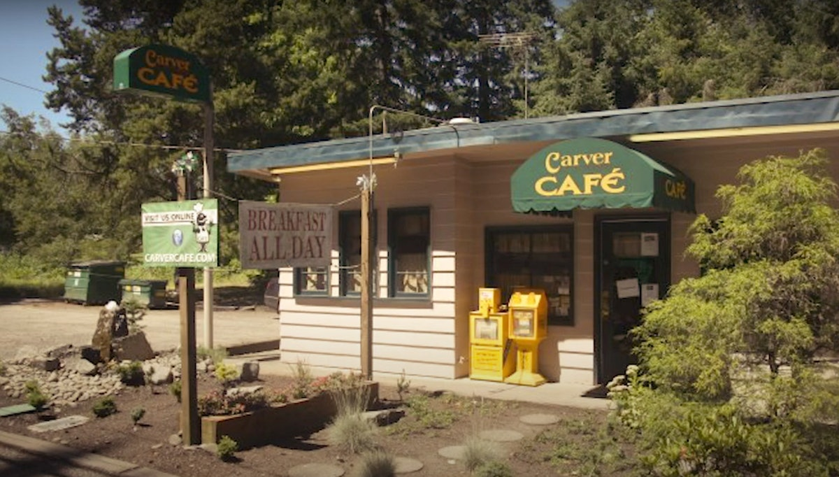 The Carver Café from 'Twilight' is an actual filming location from the movie.