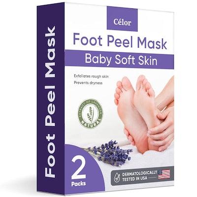 Célor Foot Peel Mask (2-Pairs)