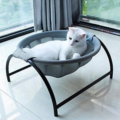 JUNSPOW Free-Standing Cat Hammock