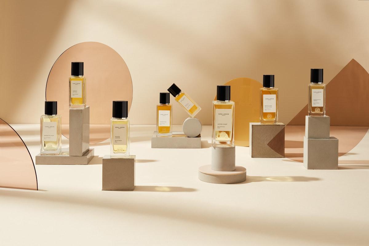 Sana Jardin fragrance bottles