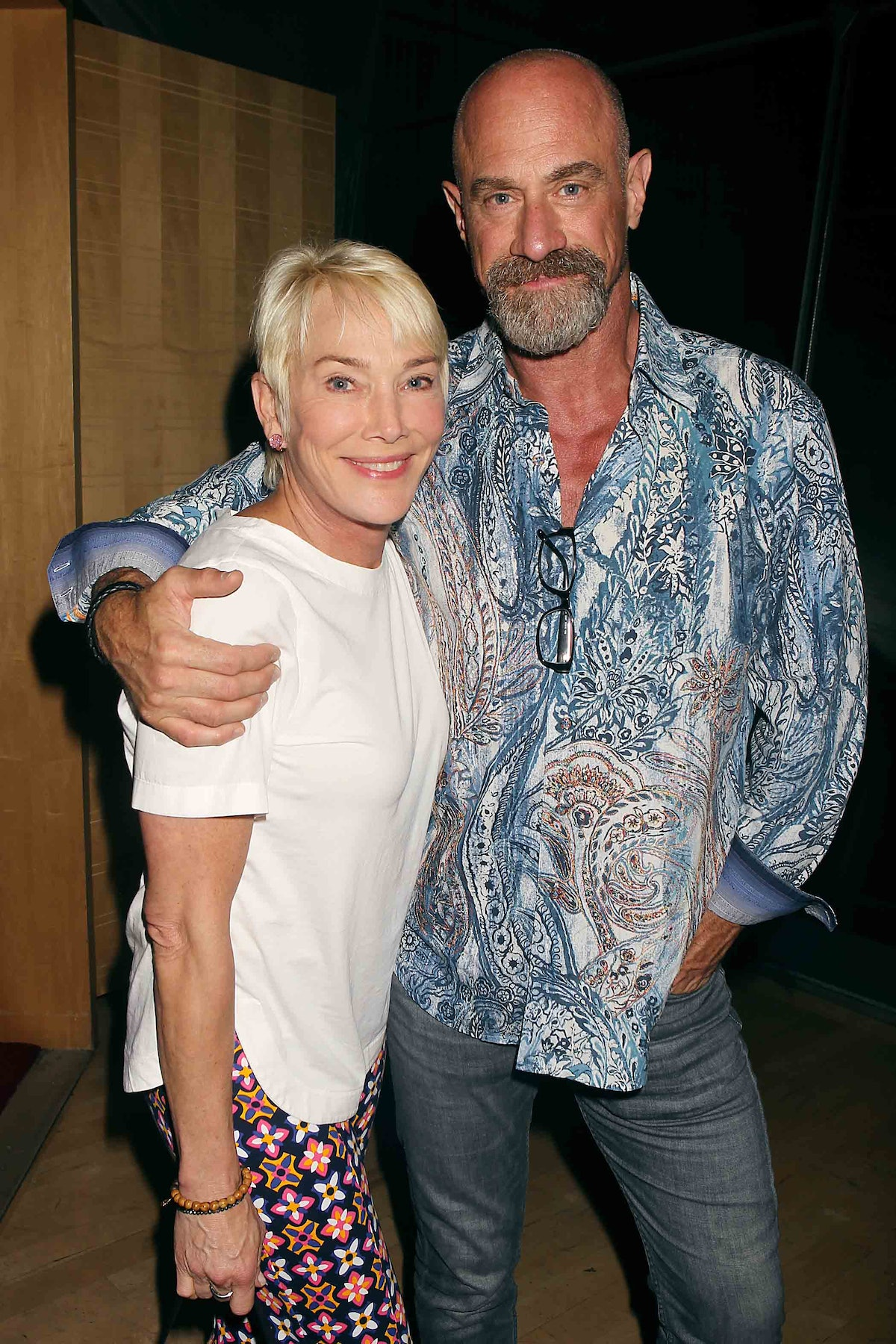 chris meloni and his wife
