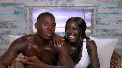 Kaz & Aaon in 'Love Island'