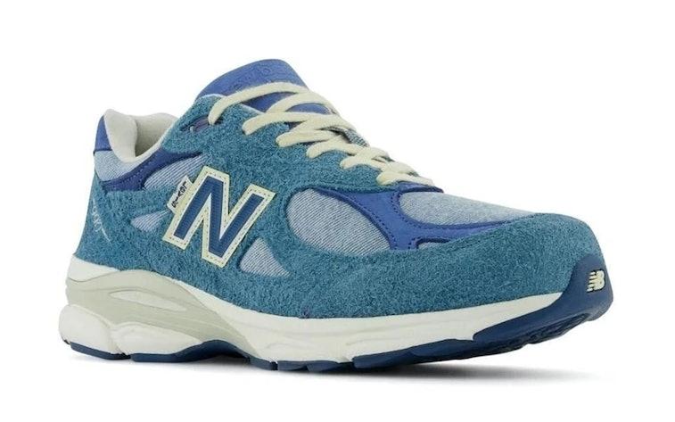 New Balance x Levi's denim 990v3 sneaker