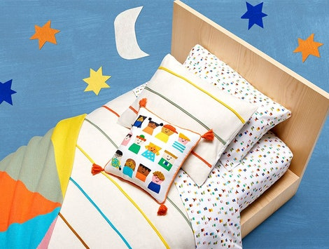 The Christian Robinson collection from Target is full of beautiful, whimsy designs.