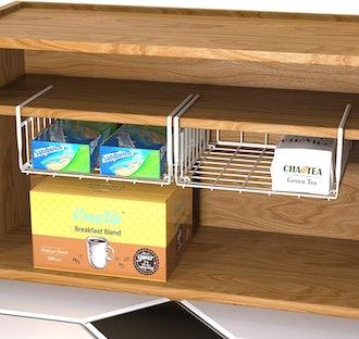 Simple Houseware Under Shelf Basket (2 Pack)