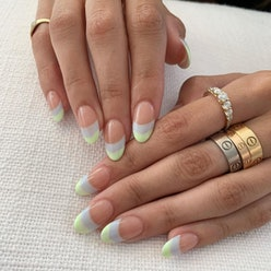 Madison Beer's French manicure