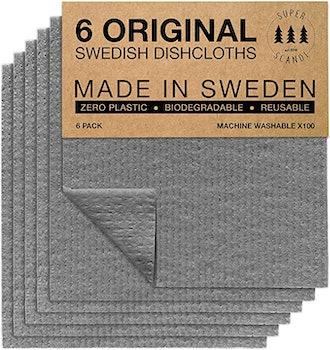 SUPERSCANDI Swedish Dishcloths