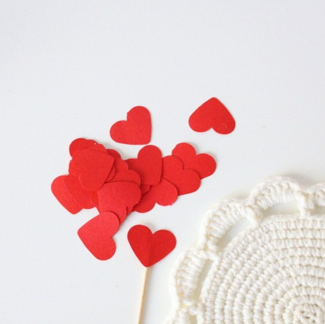 Cupcake toppers are an easy construction paper craft to make with kids.
