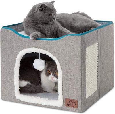 Bedsure Foldable Cat Hideaway