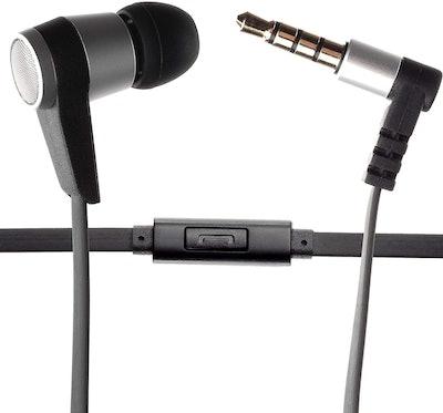 Sharktooth Single Earbud Stereo-to-Mono Headphone