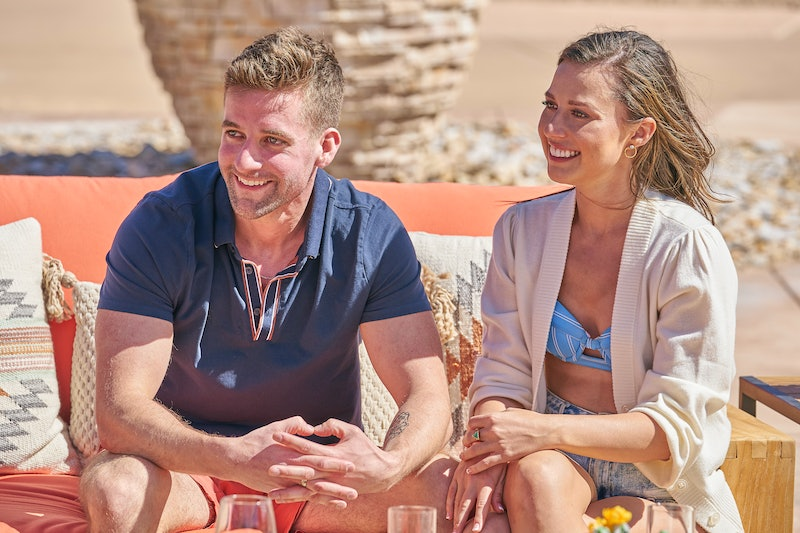 """Connor Brennan had a surprise kiss during 'The Bachelorette's """"Men Tell All"""" special."""