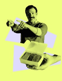 Ted Lasso and his famous biscuits