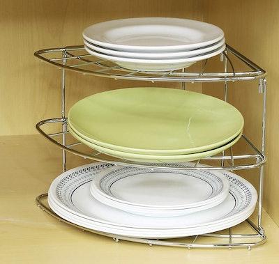 Simple Houseware 3-Tier Corner Shelf Organizer