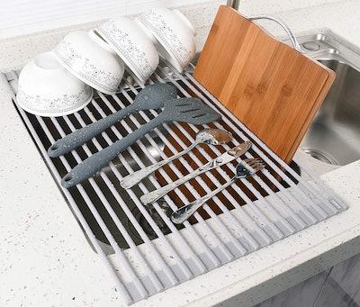 Surpahs Roll-Up Dish Drying Rack