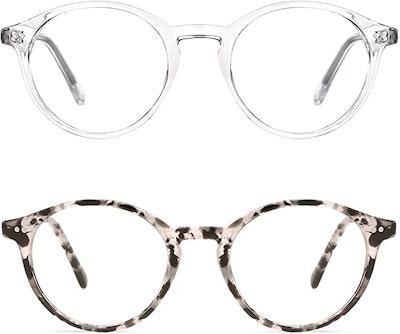 TIJN Blue Light-Blocking Glasses (2-Pack)