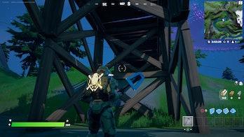 fortnite week 8 alien artifact location 2 gameplay