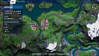 fortnite week 8 alien artifact location 2 map