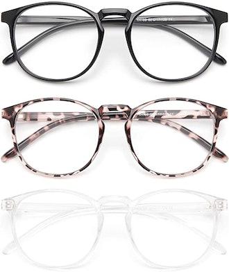 IBOANN Blue Light Blocking Glasses (3-Pack)