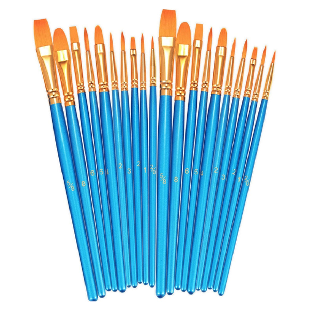 BOSOBO Paint Brush Set (Set of 20)
