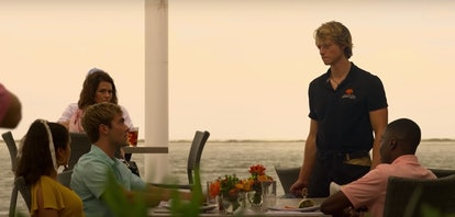 A scene from Season 2 of 'Outer Banks' shows filming locations you can see when you do a home swap i...