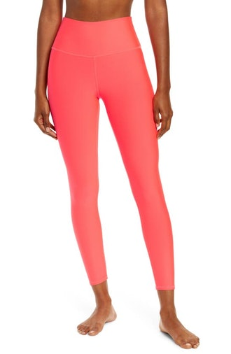 Airlift High Waist 7/8 Leggings in Pink Lava from Alo Yoga, available on Nordstrom's Anniversary Sal...