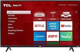 TCL 43-inch 1080p Smart LED Roku TV